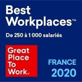 Palmarès Great Place To Work® 2020 : Manutan obtient la 27ème place