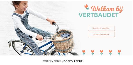 Vertbaudet – Lancement du site E-commerce aux Pays-Bas